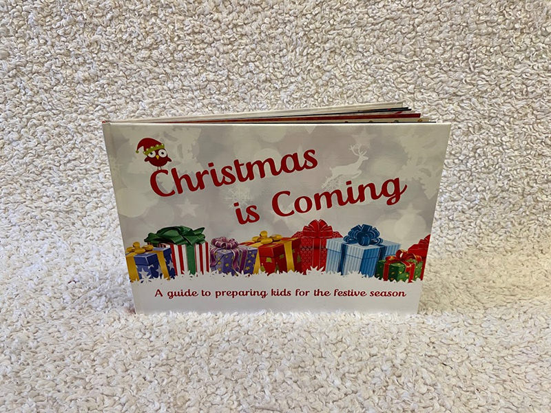 Christmas is Coming personalised book for kids