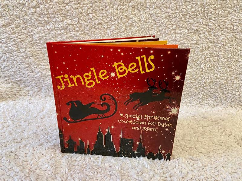 Jingle Bells personalised christmas book for kids