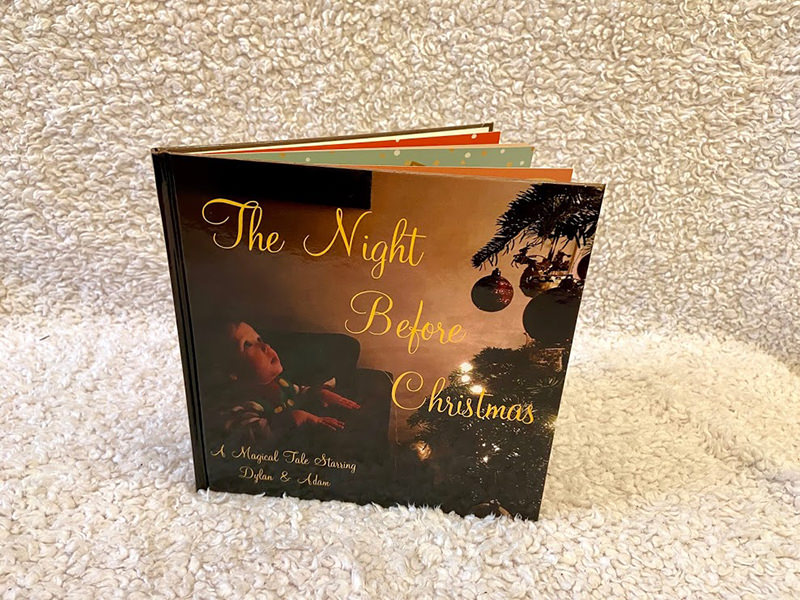The Night Before Christmas personalised book for kids